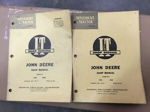 John Deere Tractor IT Shop Manuals