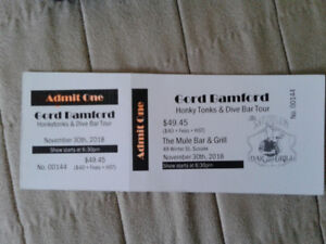 Gord Bamford ticket