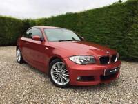 2008 08 BMW 1 SERIES 2.0 120D M SPORT 2D AUTO 175 BHP DIESEL