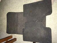BMW series 1 X 3 black car mats