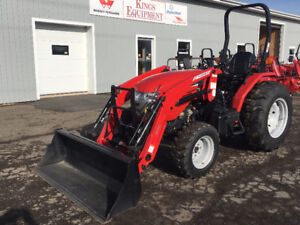 YEAR END CLEARANCE - McCormick 35hp Tractor with Loader