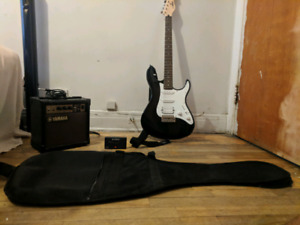 Yamaha Black Electric Guitar