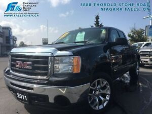 2011 GMC Sierra 1500 SLE  4X4,5.3L,BLUETOOTH,NAVIGATION