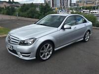 2012 MERCEDES C-CLASS C250 CDI BLUEEFFICIENCY SPORT SALOON DIESEL