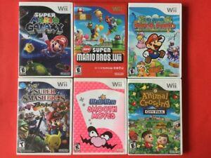 Mario Paper, Galaxy, Crossing, New Mario Bros, Smash Bros