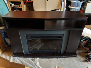 Electric fireplace/TV console