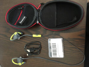 Power Beats headphones (comes with a charging case)