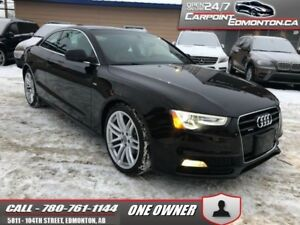 2015 Audi A5 2.0T S LINE...AWD..MINT ...ONE OWNER  - Trade-in