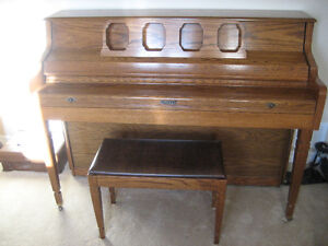 Kimball Piano & Bench for Sale