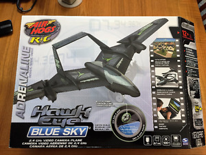 Air Hogs Hawk Eye Blue Sky R/C Plane NEW