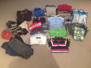 Boys Clothes: 18-24 month old lot (85 items)