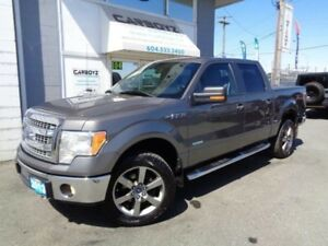 2013 Ford F-150 XLT XTR Crew 4x4, EcoBoost, One Owner, Local