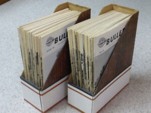 61 Bulletin National Railroad Assoc Magazines from 1970's