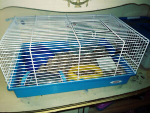 Cage a hamster + accessoire