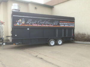 2012 ONE OF A KIND Texas Style Smoker BBQ Concession Trailer