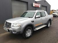 2009 Ford Ranger 3.0TDCi Wildtrak Double cab 4x4 Pickup Diesel * 156k *