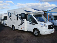 Chausson FLASH 610 with centre electric drop down bed