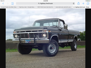 LOOKING FOR RIMS AND TIRES FOR A FORD HIGH BOY