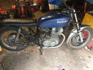 1977 Suzuki GS400 project or parts package