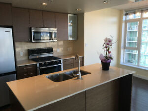 Richmond Centre 2 BR 2 Bath Furnished High Rise