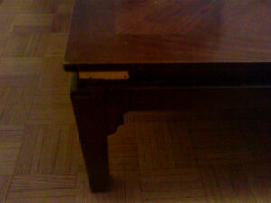 Coffee table 3'x3' Cherrywood
