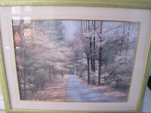 very large canvas in frame / landscape images Kitchener / Waterloo Kitchener Area image 10