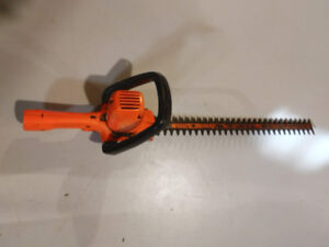 hedge trimmer / 22 inch / electric