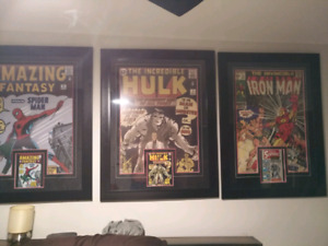 Signed Stan Lee posters