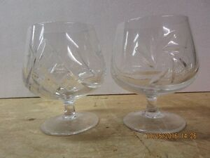 Crystal brandy carafe and 4 matching snifters London Ontario image 6