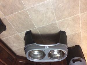 Pet Ladder and dishes