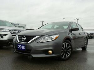 2018 Nissan Altima 2.5 SV HEATED STEERING WHEEL