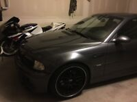 2002 BMW e46 M3 steel grey