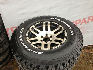 BFG All terrain tires on eagle rims