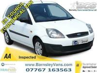 2009 09 FORD FIESTA 1.4TDCI VAN 98K EX COUNCIL FROM NEW
