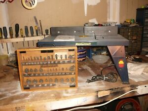 power router table and accessories Kitchener / Waterloo Kitchener Area image 1