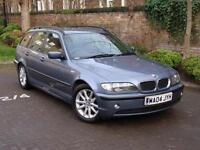 EXCELLENT DIESEL ESTATE!! 2004 BMW 3 SERIES 2.0 320d ES TOURING 5dr AUTO, FSH, 1 YEAR MOT, WARRANTY