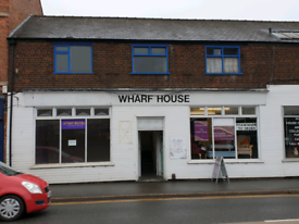 Grantham wharf House shop units immediately available