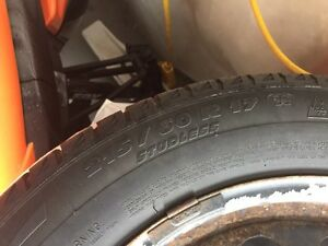 Michelin winter tires with rims  Kawartha Lakes Peterborough Area image 2