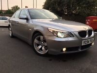 BMW 5 SERIES 530D 2005 AUTOMATIC DIESEL WIDE SCREEN+NW MOT+XENON+BLUETOOTH+JUST SERVICD