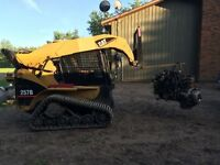 Landscaping, Skidsteer services and Removal
