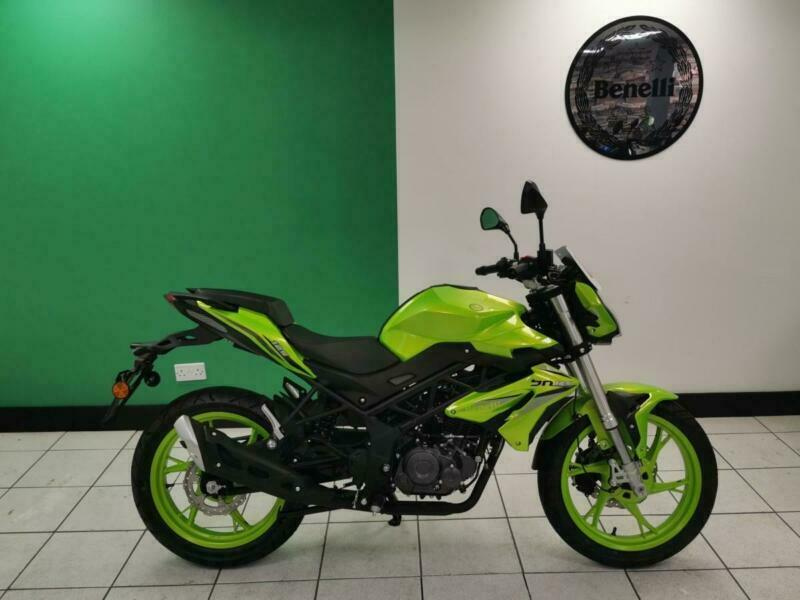 Benelli BN 125cc Naked Motorcycle Learner Legal commuter