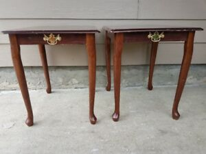 Pair of Cheap end tables
