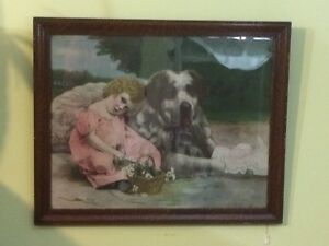"""Very old picture """" Her Guardian """""""