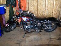 1972 Harley Davidson FX, 1200 Shovel Head.
