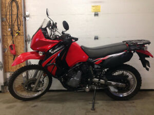 09 KLR 650 Dual Purpose Bike