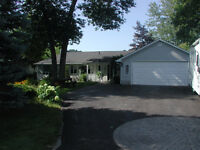 Waterfront, 1600 sq ft Bungalow, N/gas Heat, 2 Car Garage
