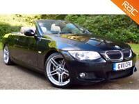 2011 11 BMW 3 SERIES 3.0 325I M SPORT 2D AUTO 215 BHP CAB/CONVERTIBLE! HUGE SPEC
