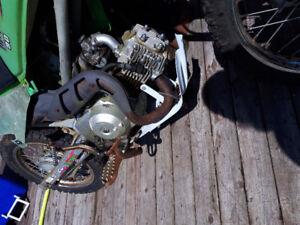 Baja 90 cc dirt bike