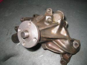 NOS  genuine GM small block Chevy long water pump