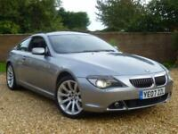2007 07, BMW 650i 4.8 auto i Sport Coupe ++ 11 BMW SERVICES + PANORAMIC ROOF